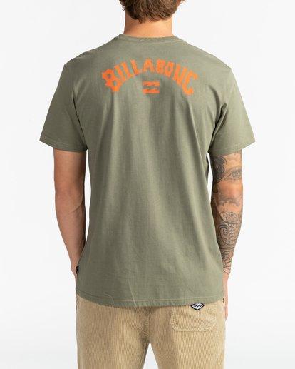 1 Arch Wave - Camiseta para Hombre Multicolor U1SS60BIF0 Billabong