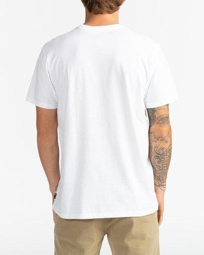 5 Inversed - T-Shirt für Männer Weiss U1SS61BIF0 Billabong