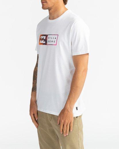 3 Inversed - T-Shirt für Männer Weiss U1SS61BIF0 Billabong