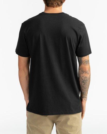 5 Inversed - Camiseta para Hombre Negro U1SS61BIF0 Billabong