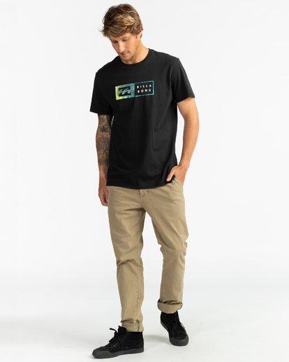 4 Inversed - Camiseta para Hombre Negro U1SS61BIF0 Billabong