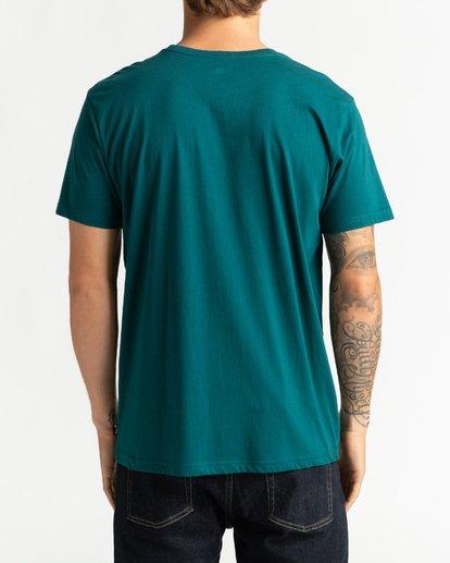 1 Tucked - Maglietta da Uomo Green U1SS64BIF0 Billabong