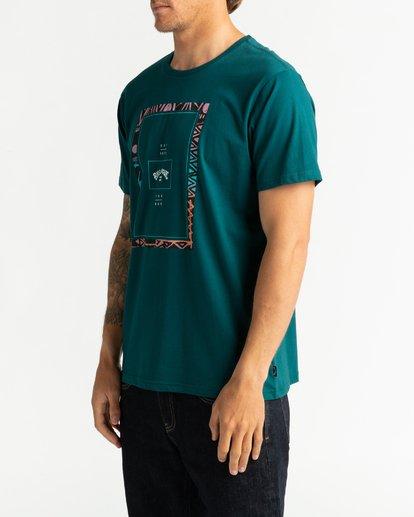 2 Tucked - Maglietta da Uomo Green U1SS64BIF0 Billabong