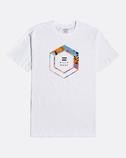 3 Access - T-Shirt for Men White U1SS65BIF0 Billabong