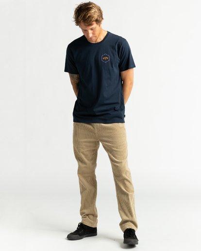 4 Access Back - Camiseta para Hombre Azul U1SS66BIF0 Billabong