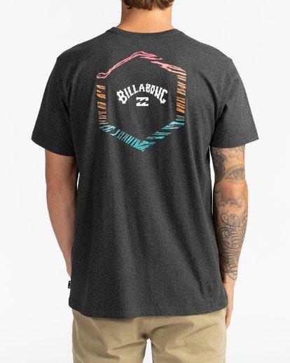 1 Access Back - T-shirt pour Homme Noir U1SS66BIF0 Billabong