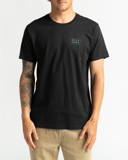 0 Die Cut Theme - T-Shirt for Men Black U1SS67BIF0 Billabong