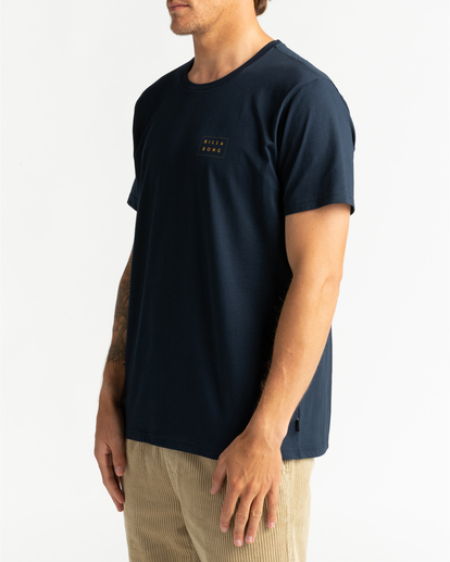 2 Die Cut Theme - T-Shirt for Men Blue U1SS67BIF0 Billabong