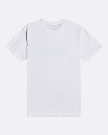 1 Montana - Camiseta para Hombre Blanco U1SS69BIF0 Billabong