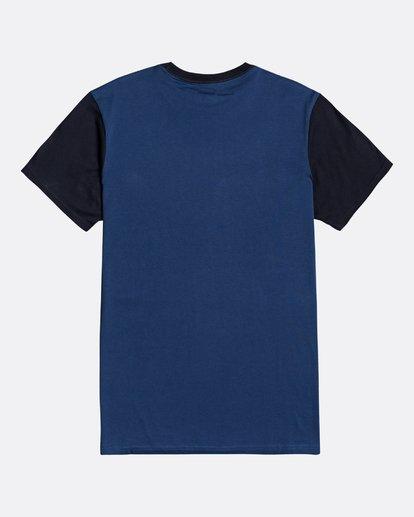 1 Montana - Camiseta para Hombre Azul U1SS69BIF0 Billabong