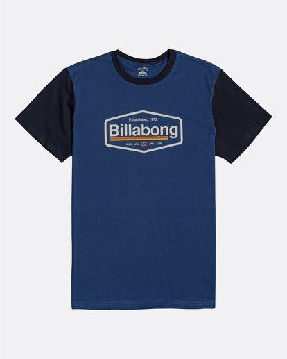 0 Montana - Camiseta para Hombre Azul U1SS69BIF0 Billabong