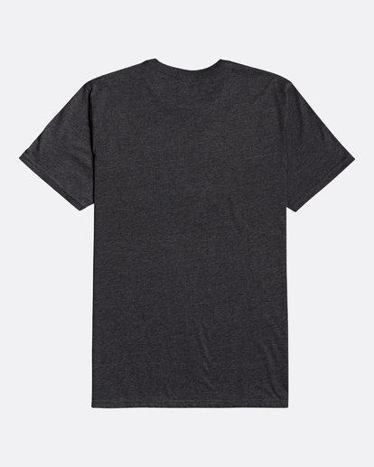 1 Montana - Camiseta para Hombre Negro U1SS69BIF0 Billabong