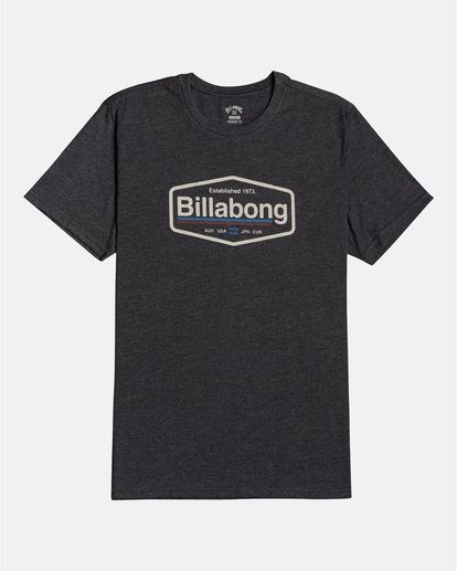 0 Montana - Camiseta para Hombre Negro U1SS69BIF0 Billabong