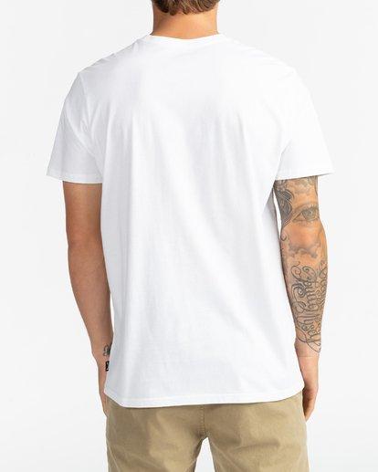 5 Montana - Camiseta para Hombre Blanco U1SS69BIF0 Billabong