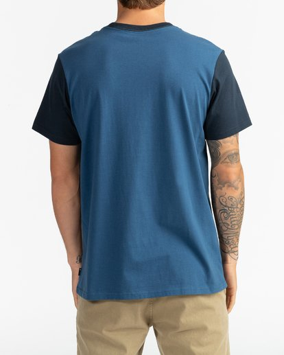 5 Montana - Camiseta para Hombre Azul U1SS69BIF0 Billabong