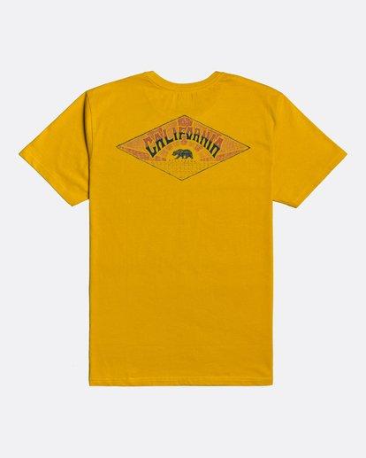 1 Dreamy Places - Camiseta para Hombre Amarillo U1SS71BIF0 Billabong