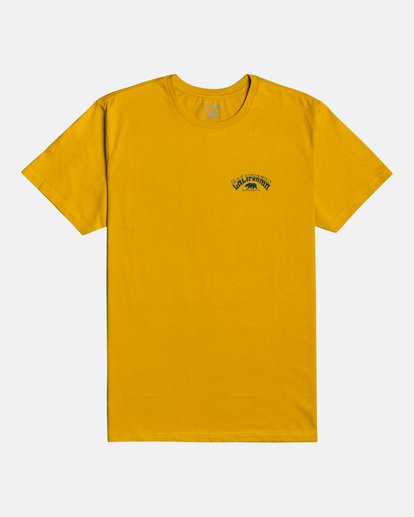 0 Dreamy Places - Camiseta para Hombre Amarillo U1SS71BIF0 Billabong