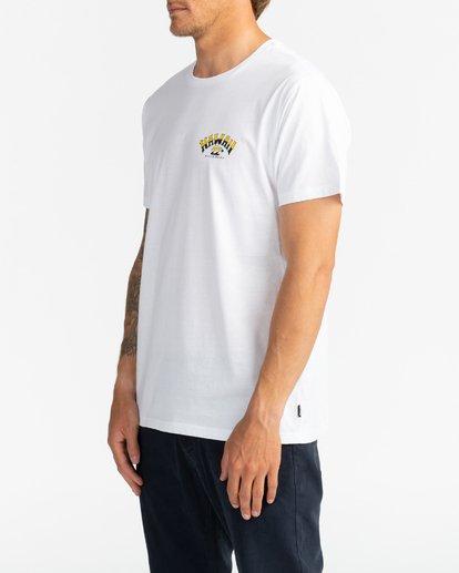 3 Dreamy Places - Camiseta para Hombre Blanco U1SS71BIF0 Billabong