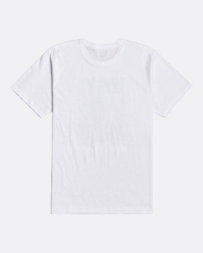 1 Cubes - Camiseta para Hombre Blanco U1SS72BIF0 Billabong