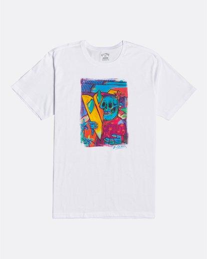 0 Cubes - T-Shirt für Männer Weiss U1SS72BIF0 Billabong