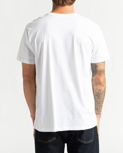 5 Cubes - Camiseta para Hombre Blanco U1SS72BIF0 Billabong