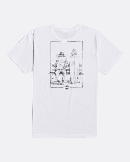 1 Surf Report - T-shirt pour Homme Blanc U1SS73BIF0 Billabong