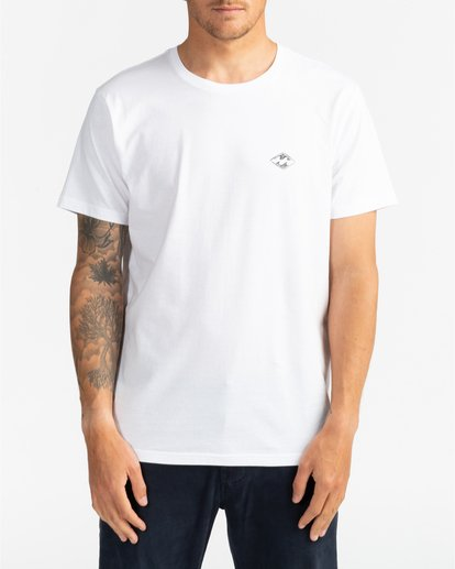 2 Surf Report - Camiseta para Hombre Blanco U1SS73BIF0 Billabong
