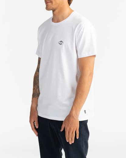 3 Surf Report - Camiseta para Hombre Blanco U1SS73BIF0 Billabong