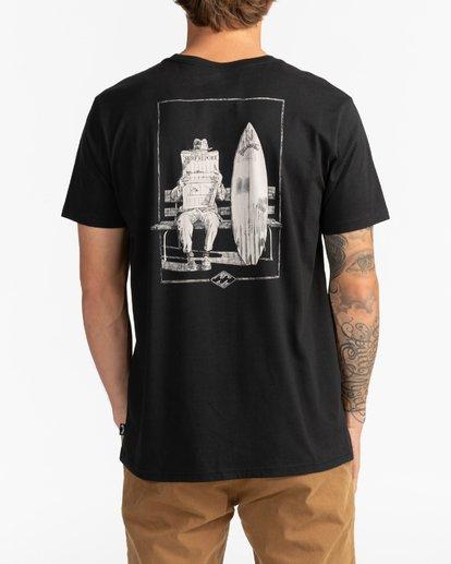 5 Surf Report - T-Shirt for Men Black U1SS73BIF0 Billabong