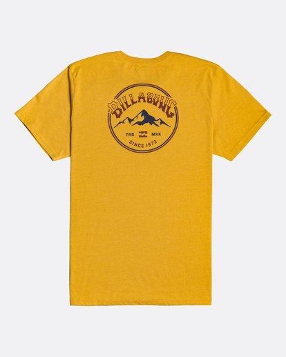 1 Arch Peak - Camiseta para Hombre Amarillo U1SS74BIF0 Billabong