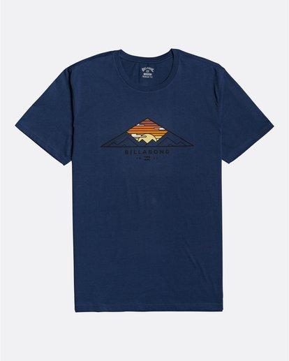 0 Mt Cayley - Camiseta para Hombre Azul U1SS75BIF0 Billabong