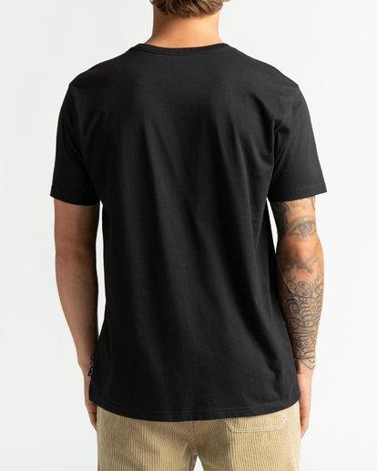 5 Mt Cayley - Camiseta para Hombre Negro U1SS75BIF0 Billabong