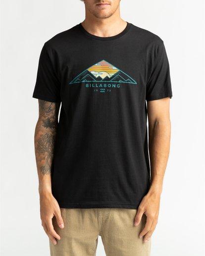 2 Mt Cayley - Camiseta para Hombre Negro U1SS75BIF0 Billabong