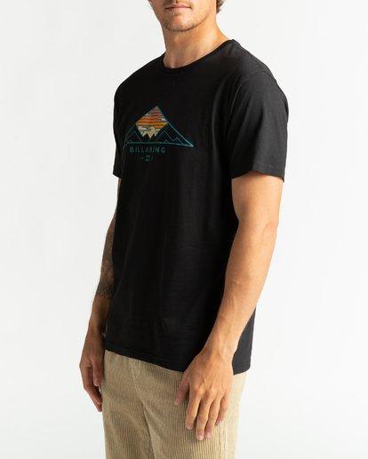 3 Mt Cayley - Camiseta para Hombre Negro U1SS75BIF0 Billabong