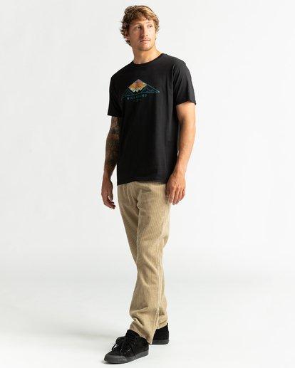 4 Mt Cayley - Camiseta para Hombre Negro U1SS75BIF0 Billabong