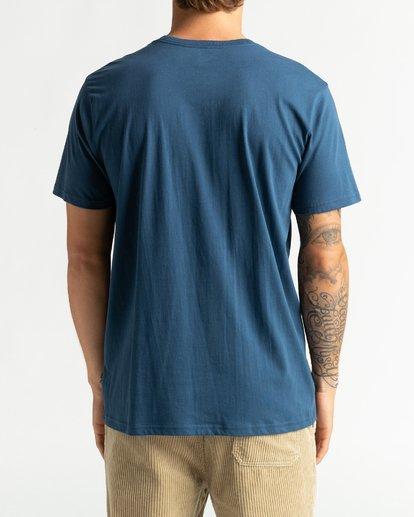 5 Mt Cayley - Camiseta para Hombre Azul U1SS75BIF0 Billabong