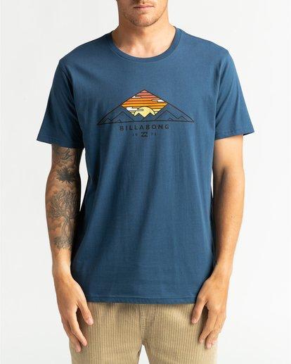 2 Mt Cayley - Camiseta para Hombre Azul U1SS75BIF0 Billabong
