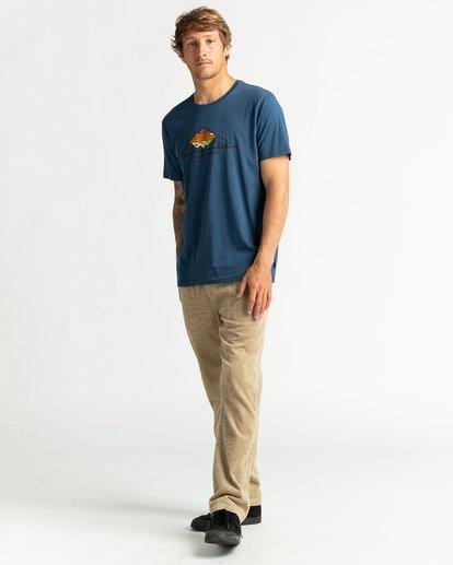 4 Mt Cayley - Camiseta para Hombre Azul U1SS75BIF0 Billabong