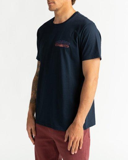 2 Okapi - T-shirt pour Homme Bleu U1SS76BIF0 Billabong