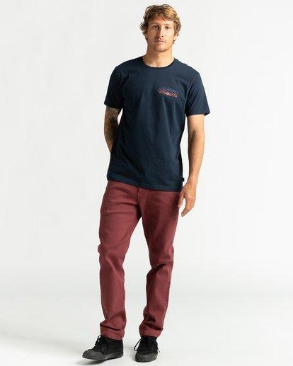 4 Okapi - Camiseta para Hombre Azul U1SS76BIF0 Billabong