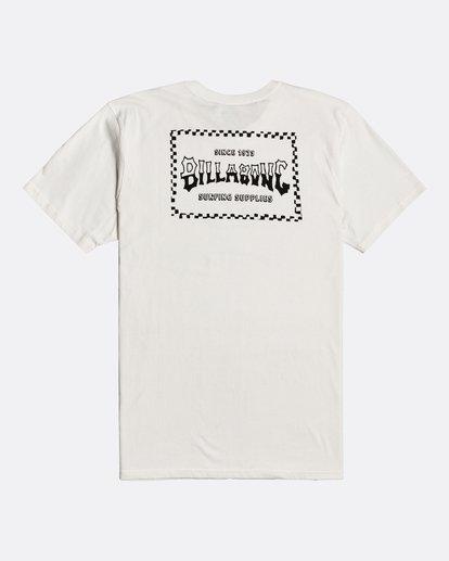 1 Supply Wave - Camiseta para Hombre Blanco U1SS77BIF0 Billabong