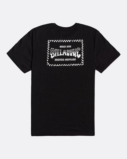 1 Supply Wave - T-Shirt für Männer Schwarz U1SS77BIF0 Billabong