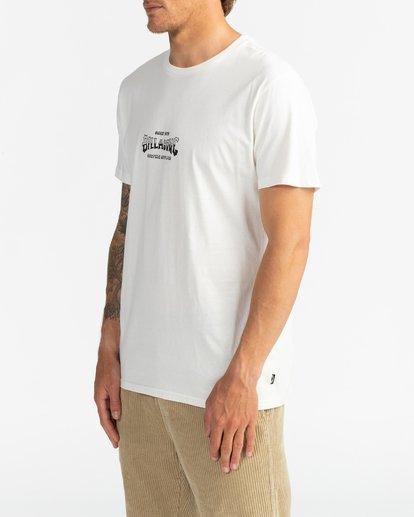 3 Supply Wave - Camiseta para Hombre Blanco U1SS77BIF0 Billabong
