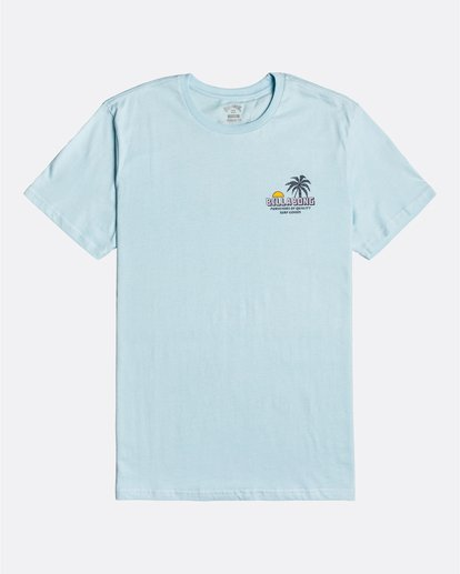 3 Palmas - T-Shirt for Men Blue U1SS78BIF0 Billabong