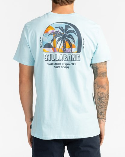 1 Palmas - T-Shirt for Men Blue U1SS78BIF0 Billabong