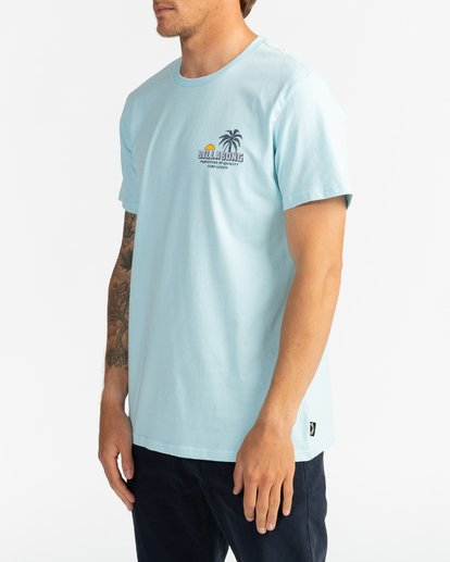 2 Palmas - T-Shirt for Men Blue U1SS78BIF0 Billabong