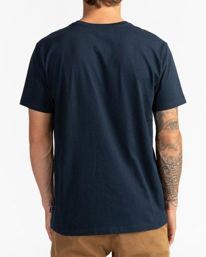 5 Cruiser Stripe - T-Shirt für Männer Blau U1SS79BIF0 Billabong