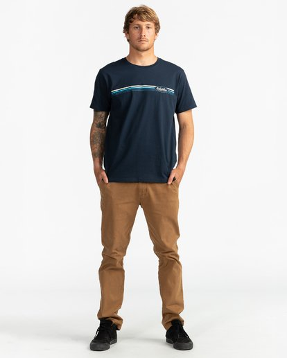 4 Cruiser Stripe - T-Shirt für Männer Blau U1SS79BIF0 Billabong