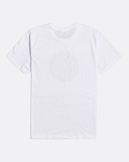 1 Plug In - T-shirt pour Homme Blanc U1SS80BIF0 Billabong