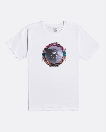 0 Plug In - T-shirt pour Homme Blanc U1SS80BIF0 Billabong